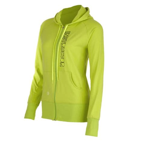 Hoodie Zemba Clothing bliss instructor hoodie green i