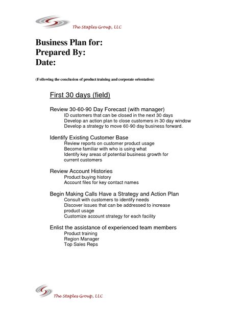 90 day sales plan template 30 60 90 day sales plan template best business template