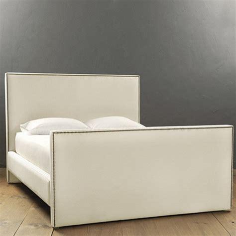 ballard designs beds mara bed with antique brass nailheads contemporary