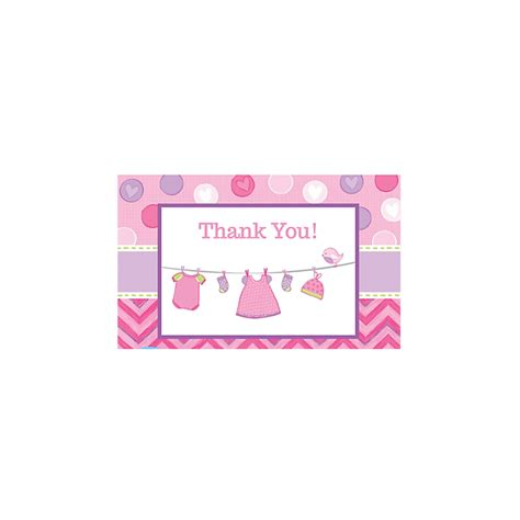its a baby shower thank you notes
