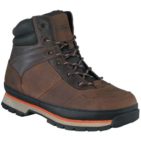 s rockport works 174 alpharon steel toe work hiking boots