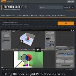 cycles light path magic in blender tips cycles materials compositing pearltrees