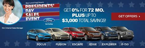 ford sales ford presidents day sale