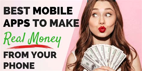 smartphone apps   real money   phone