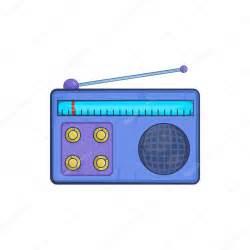 imagenes radio retro icono de receptor de radio retro en estilo de dibujos