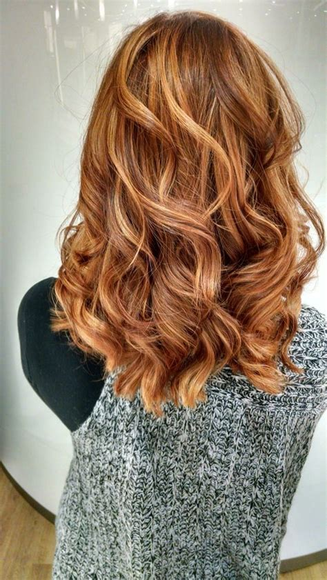 hairstyles with brown copper light brown stripes red highlights ideas for blonde brown and black hair