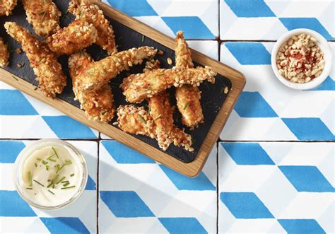 Rice Pop Chicken rice pops coated chicken goujons recipe by sainsbury s lifestyle recipes reveal