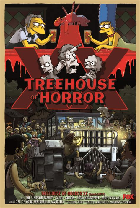 the simpsons treehouse of horror 12 simpsons still haunts after 2 decades of treehouse of
