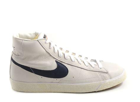 Nike Blazer Premium Vintage nike blazer mid premium vintage sail mid navy novoid plus