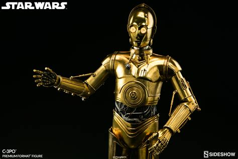 star wars from a star wars c 3po premium format tm figure by sideshow collec sideshow collectibles