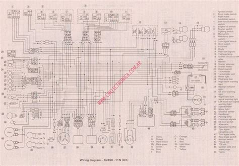 xj650 wiring diagram xvs650 wiring diagram wiring diagram