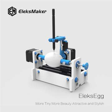 original eleksmaker eleksegg egg drawing robot cnc drawing
