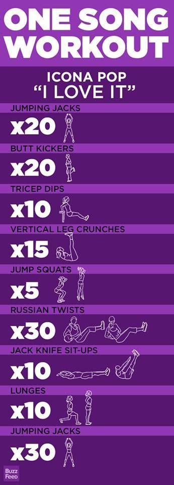 sport workout für zuhause 5 one song workouts 220 bung gesundheit und fitness und