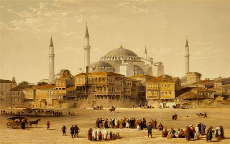 Ottoman Empire Islam Islam Ottoman Empire Hagia Fossati Brothers Wallpaper No 302164 Wallhaven Cc