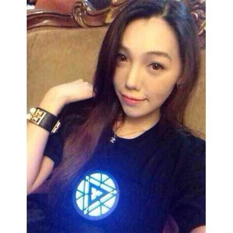 Kaos T Shirt Iron Black led t shirt iron model size xl black