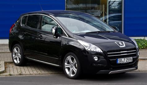 peugeot suv 2012 file peugeot 3008 hybrid4 frontansicht 30 august 2012