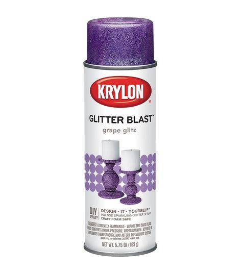Krylon Glitter Blast Paint Glitter Spray Paint Jo