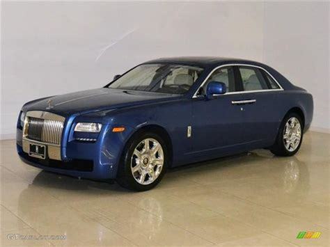 roll royce ghost blue 2011 metropolitan blue rolls royce ghost 60110615