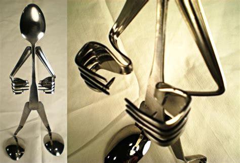 handmade silverware iphone stand gadgetsin