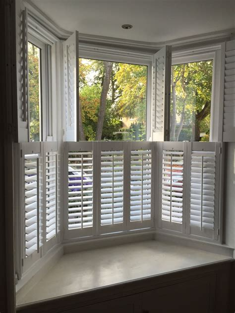 window shutters with curtains bay window shutters fitted in netley abbey shuttersouth