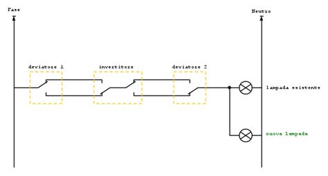 accensione lada da tre punti schema elettrico per 3 punti luce schema elettrico per