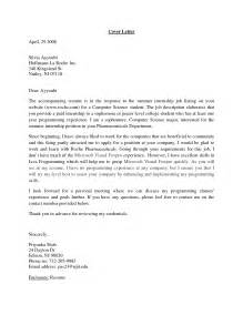 Cover Letter Exles Computer Science by Best Photos Of Summer Internship Thank You Letter Thank You Letter After Internship
