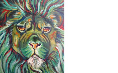 watercolor lion tutorial lion acrylic painting wildlife tutorial the art sherpa