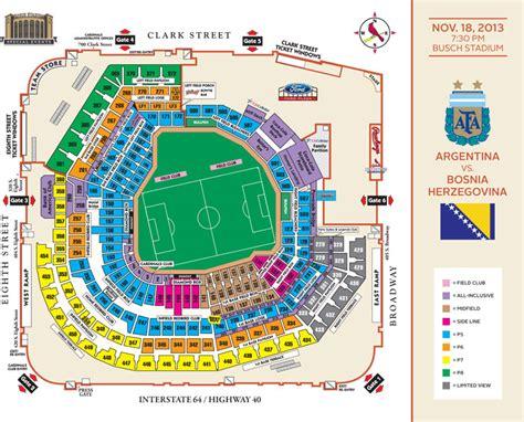 stl stadium seating chart soccer at busch stadium cardinals tickets