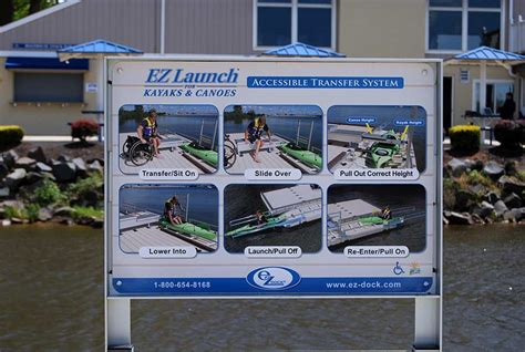 nmma chicago boat show ez launch kayak canoe station ada compatible nmma