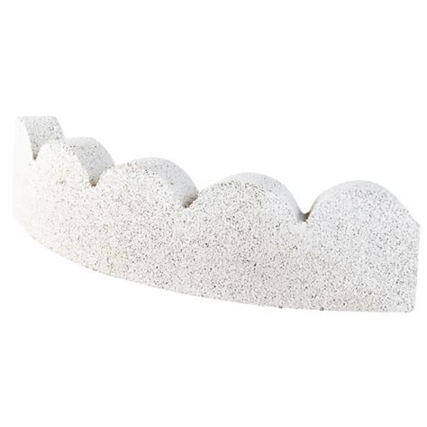 Landscape Borders Rona Curb Curved Scalopped Landscape Edging Rona