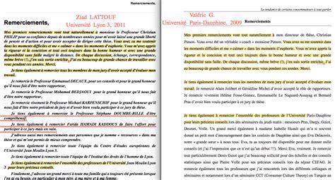 Lettre De Remerciement Jury Arch 233 Ologie Du Quot Copier Coller Quot 187 Archive 187 L Universit 233 Lyon 3 Le Plagiat Et Les Rat 233 S De