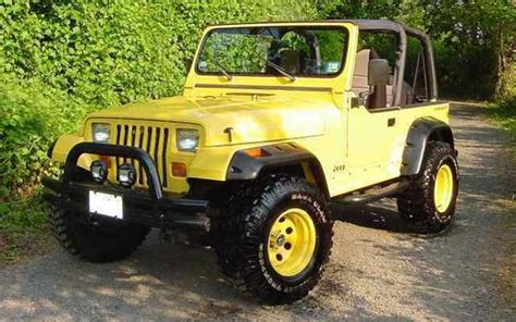 old yellow jeep yellow jeep with out black rims page 2 jeepforum com