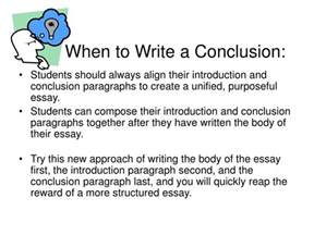 How Do You Write A Conclusion To An Essay by Ppt How To Write A Concluding Paragraph Powerpoint Presentation Id 245978