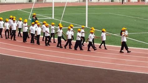 section 2 sports indian school muscat std 1 2 section annual sports day