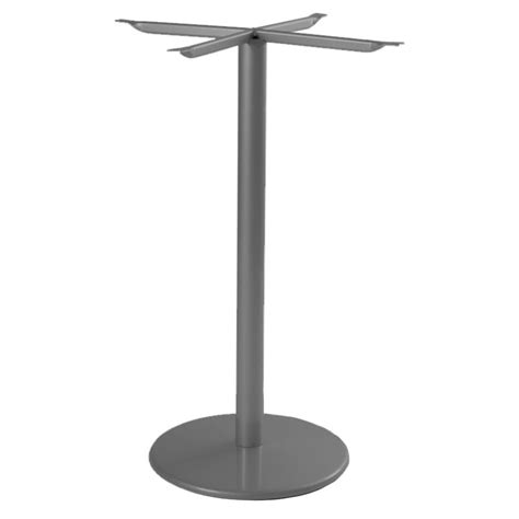 Emu Bistro Table Emu 900hbs Airon Bistro Table Base For 24 Quot D Tops Bar Height Iron