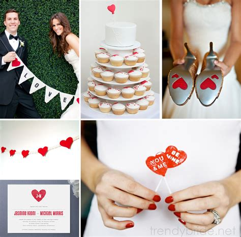 Valentines Day Weddings by Unique Ideas For Your S Day Wedding Arabia