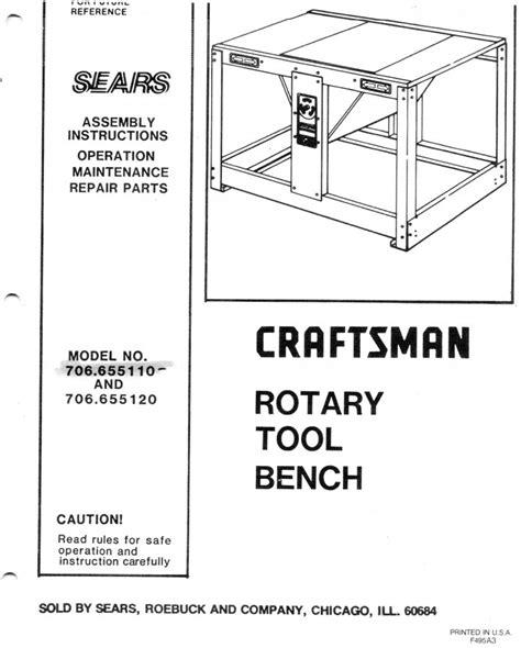 craftsman rotary tool bench craftsman rotary bench tool maine 04240 lewiston 75