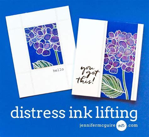 by jennifer mcguire ink distress ink lifting blog hop giveaway jennifer