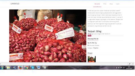 Brebes Gaul 1 jualan bawang brebes bisa dilakukan di website