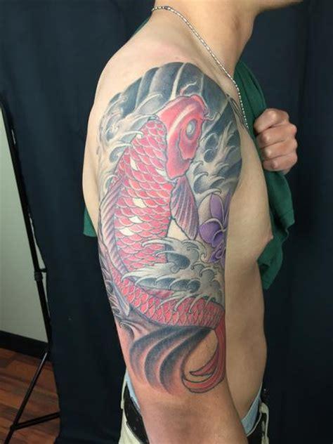 koi tattoo utah lucky bamboo tattoo traditional japanese koi fish