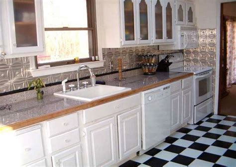white tin backsplash 33 best images about tin backsplash on kitchen backsplash backsplash tile and wood trim