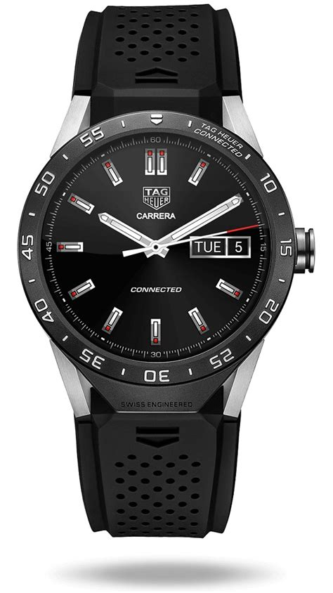 tag android tag heuer connected titanium made android wear smartwatch launched for 1500