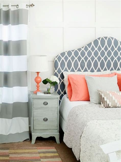 pretty things design coral gray bedroom contemporary design bedroom grey and coral just decorate
