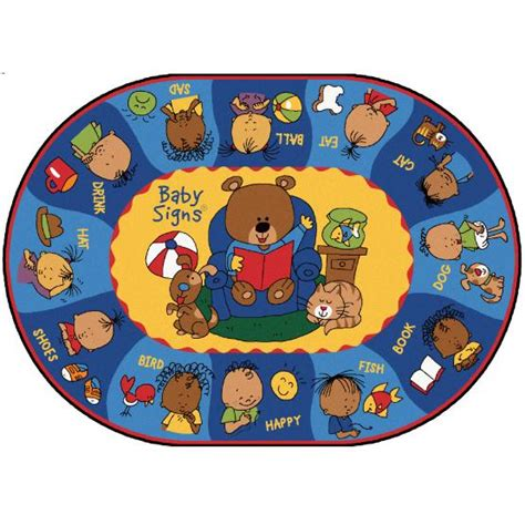 Daycare Rugs sign language rugs signing classroom rugs daycare rugs preschool rugs carpets