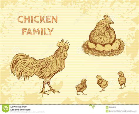imagenes vintage gallinas cartel org 225 nico del vintage de la granja con el pollo de