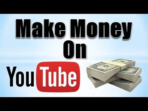 How To Make Money Online On Youtube - how to make money on youtube how to code