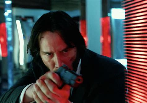 keanu reeves targets  john wick chapter  tv spot