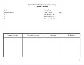 Nursing Care Plan Template by Nursing Teaching Plan Template Lawteched