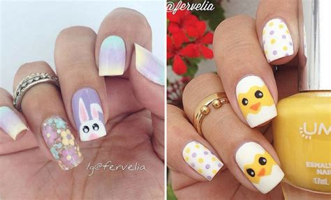 Easy Nail Designs For Easter 21 easy and simple easter nail designs stayglam