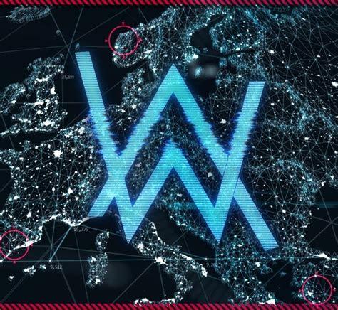 alan walker font alan walker world of walker stream logo edm identity